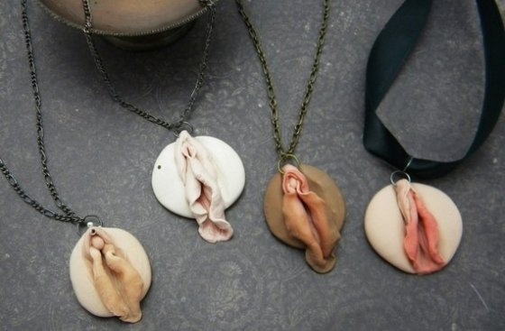 You really can find anything on Etsy. Vagina pendants too. Did you ...