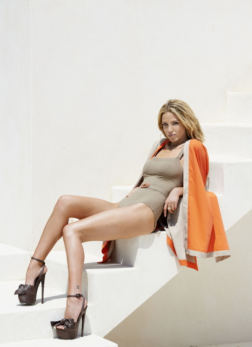 Sarah Harding for Her New Clothing Line 2012