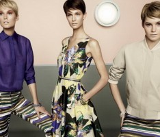Tony Garrn JuJu Ivanyuk Kendra Spears for MaxMara