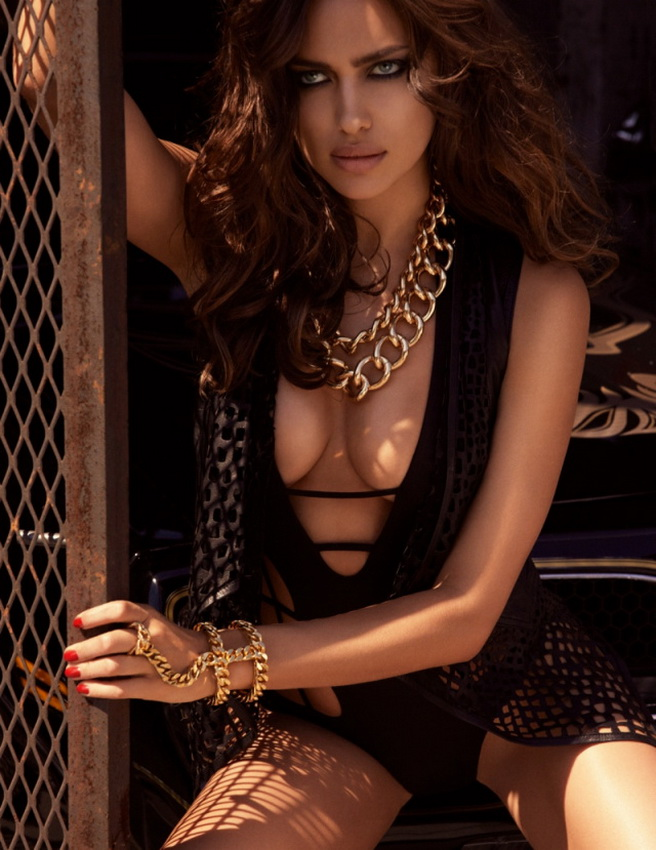 Irina Shayk for GQ Russia August 2013 06