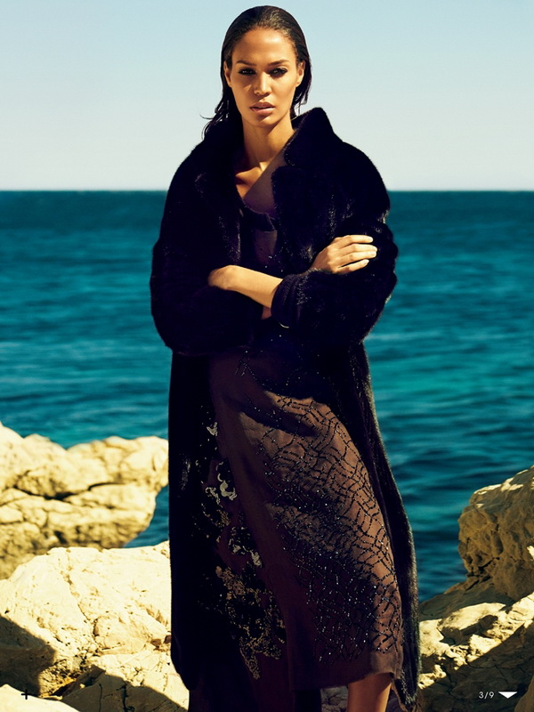 Joan Smalls for Vogue Japan October 2013 2
