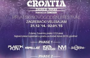 Doček sa stilom: Playground NYE CROATIA Festival 2015