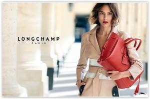 Alexa Chung, ponovno za Longchamp