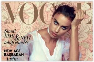 Irina Shayk za Vogue Turkey, veljača 2016