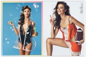 We like… Jena Goldsack for Glamour Italia's April issue