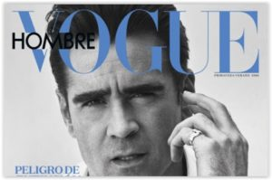 Colin Farrel za Vogue Hombre by Hunter & Gatti