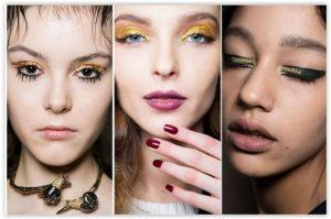 Jesenski beauty trend: dodir glittera