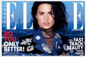 Demi Lovato za ELLE CANADA, rujan 2016