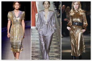Styling: Metallic trend