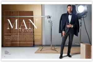 Man of Style Shane West za Haute Living Magazine