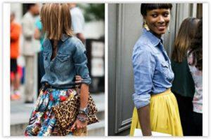 Novi tečaj jeansa: Stylish uz jeans i plisse