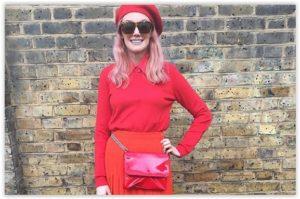 LFW Streetstyle – dominacija crvenih outfita i crvenog accessoirea