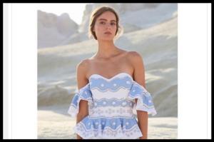 Modeli Caroline Constas za modni izlet u Saint Tropez