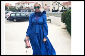 Inspirirajte se stilom Jelene Bošnjak: Kraljevski plava i maxi duljina za svečanost, stil devedesetih za večernji look