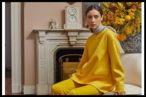 Urbana ženstvenost u spoju žutih i ljubičastih nijansi