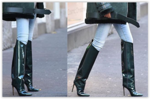 Duge noge vole knee- high boots!